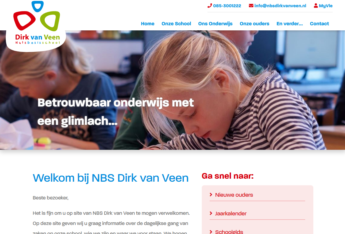 Website Dirk van Veen